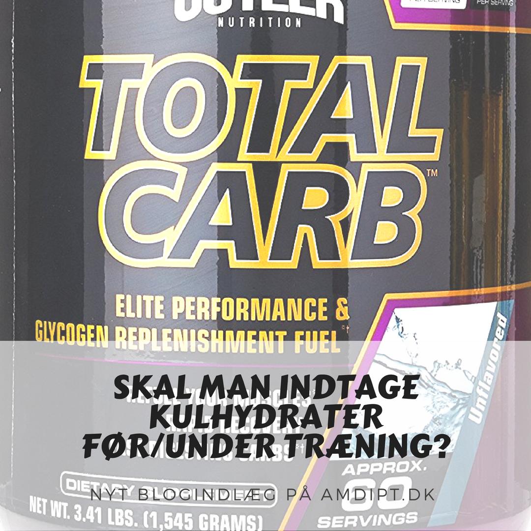 Kulhydrater før træning
