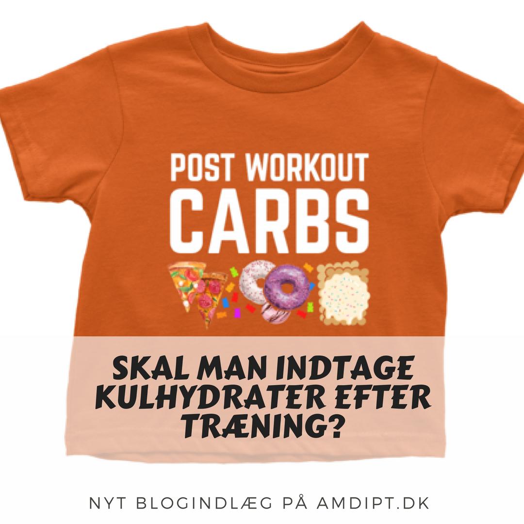 Kulhydrater efter træning